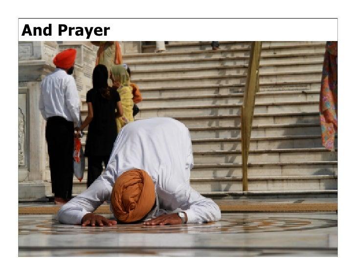And Prayer