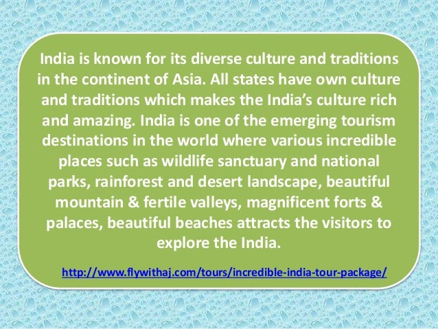 Discover Unparallel Incredible India Tour with Fly With AJ Travels Slide 2