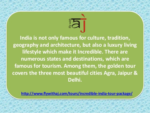 Discover Unparallel Incredible India Tour with Fly With AJ Travels Slide 3