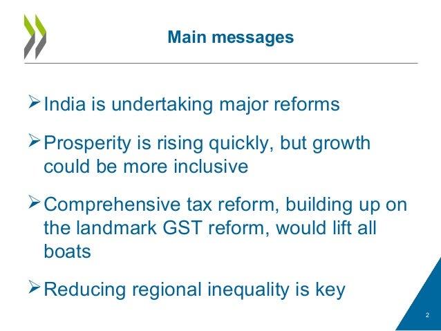 Inclusive development agenda