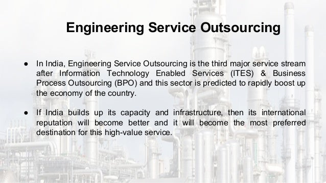 India : A Promising Nation to Offer Engineering Services Outsourcing-…