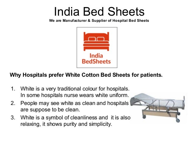 3. India Bed Sheets We Are Manufacturer U0026 Supplier Of Hospital ...