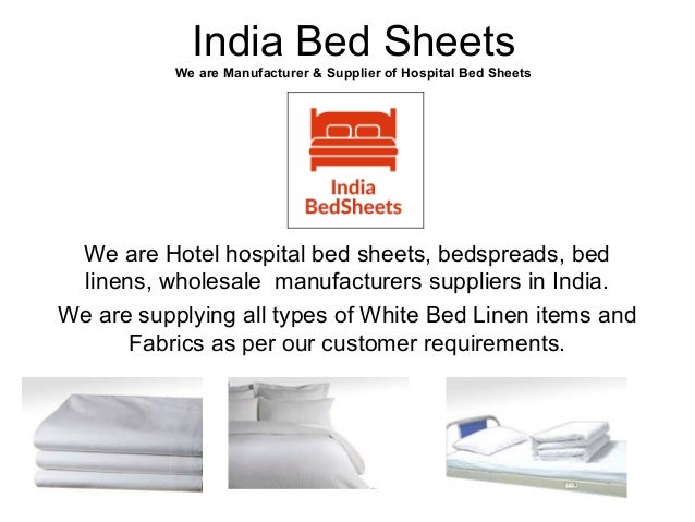 4. India Bed Sheets We Are Manufacturer U0026 Supplier Of Hospital ...
