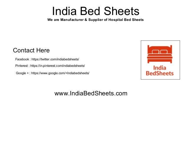 IndiaBedSheets.com; 7. India Bed Sheets We Are Manufacturer U0026 Supplier Of  Hospital ...