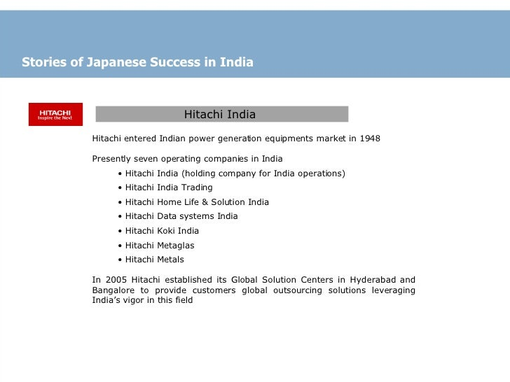 Growing Japanese Investment into India