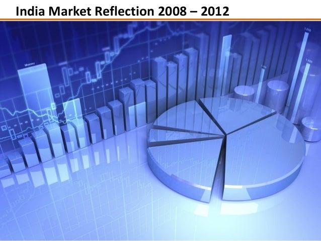 India Market Reflection 2008 – 2012                    © Saurabh, 2013