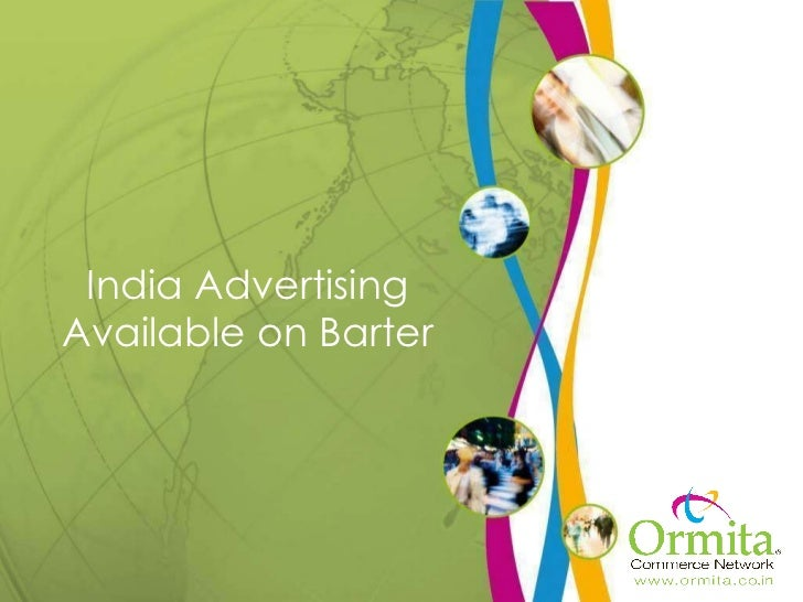 India Advertising Available on Barter