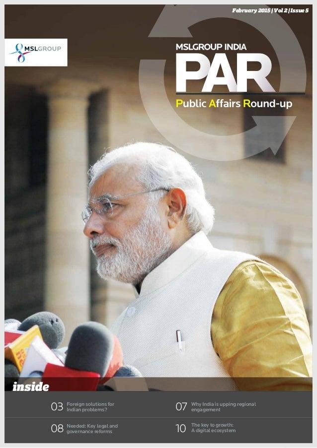 India Public Affairs Round-Up Feb 2015