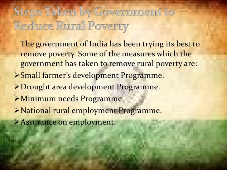 essay on anti poverty measures in india Welfare saves millions from poverty  anti-poverty programmes are we helping the poor tatistics using the official poverty measure do not provide an.