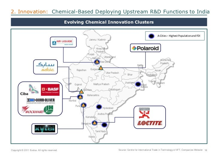 2. Innovation:  Chemical-Based Deploying Upstream R&D Functions to India<br />Evolving Chemical Innovation Clusters<br />A...