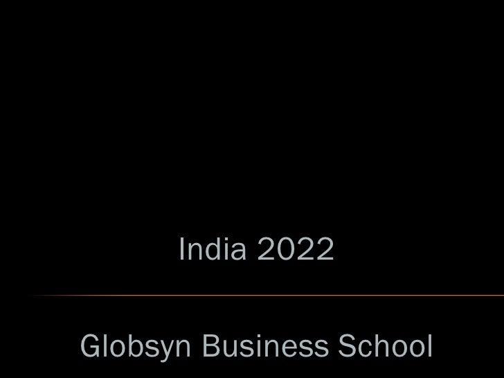 India 2022 Globsyn Business School