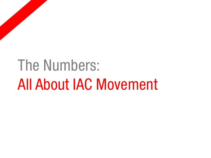The Numbers:All About IAC Movement