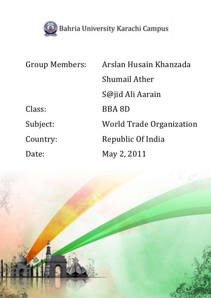 Group Members:   Arslan Husain Khanzada                 Shumail Ather                 S@jid Ali AarainClass:           BBA...