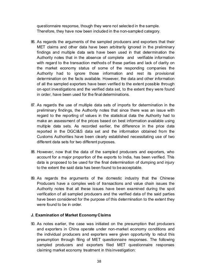 India Anti Dumping To China Ceramics Ncv Press English 8