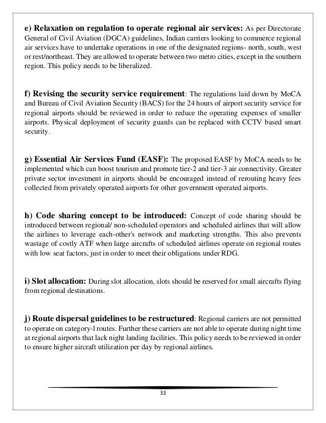 State Aviation Regulations