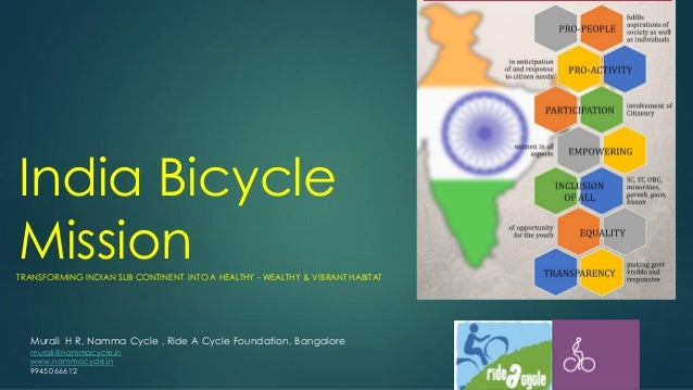 India Bicycle Mission Vision  Strategy