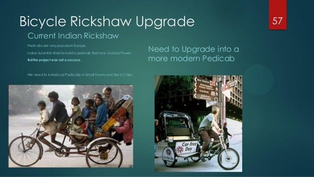 introducing cycle rickshaw in the city to reduce pollution pdf