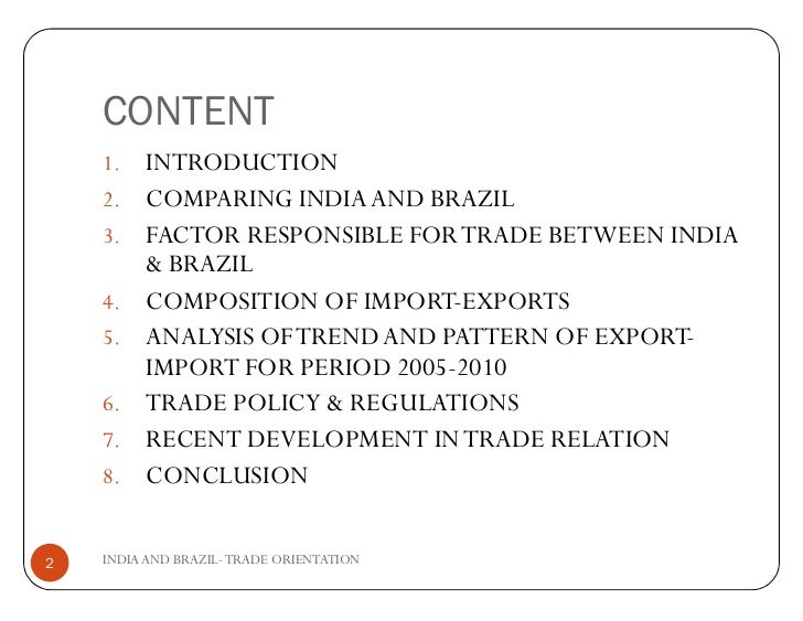 brazil and philippines trade relationship