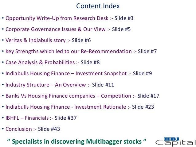 Lic housing finance research reports