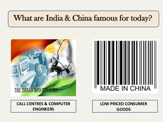 comparative study of india and china Mainstream, vol l, no 17, april 14, 2012 china and india — a comparative study of economic growth saturday 14 april 2012, by p r dubhashi.