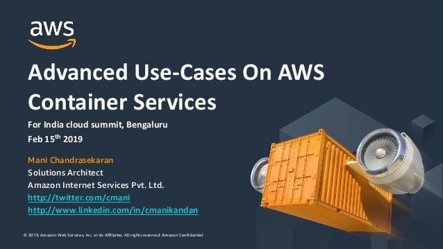 © 2019, Amazon Web Services, Inc. or its Affiliates. All rights reserved. Amazon Confidential© 2019, Amazon Web Services, ...