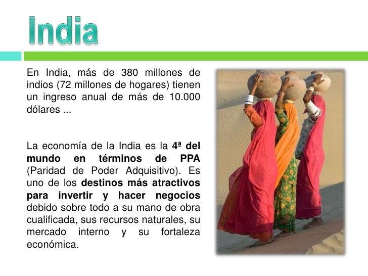 India Datos Generales Slide 2