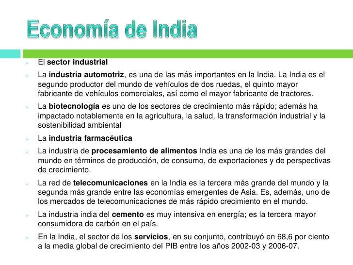 India Datos Generales Slide 3