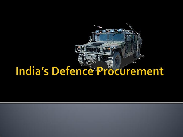    The current defence market in India     presents immense potential for defence     equipment manufacturer's     Post ...