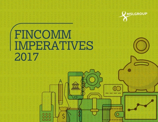 MSLGROUP India Fincomm Imperatives 2017