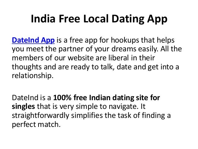100 free local dating sites