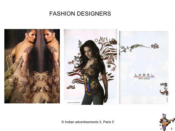 FASHION DESIGNERS INDIAN FASHION DESIGNERS