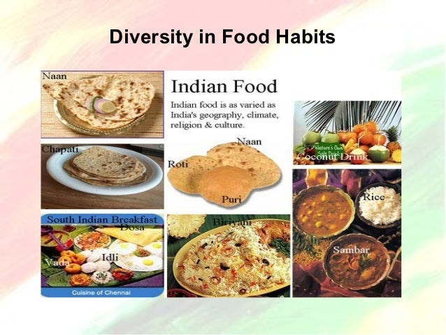 Indian States And Their Food Items
