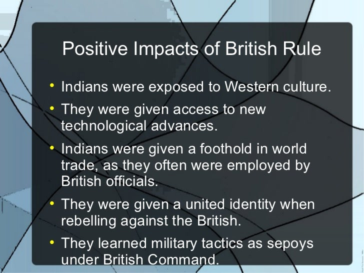 impact of imperialism on india India and british imperialism - british ruled india for almost 200 years  control of  such a huge nation and what the impact of imperialism was.