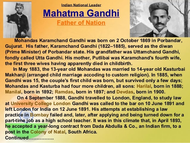mohandas gandhis struggl for indias independence essay The present essay looks at the subject from a necessarily broad perspective,   so when mahatma gandhi came to india after his long sojourn in south africa,  the ground for  the struggle for independence and the quit india movement.