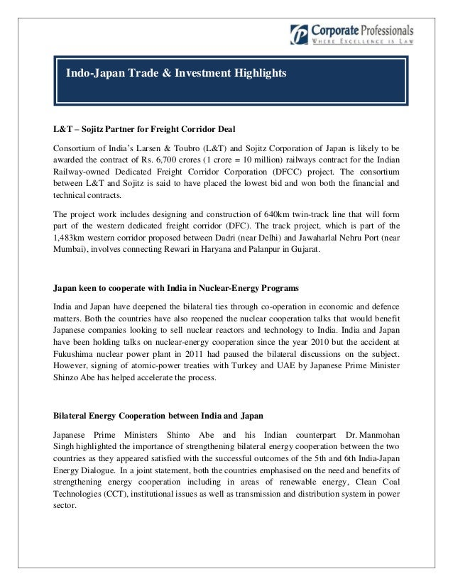 Indo Japan Trade And Investment Bulletin May 2013