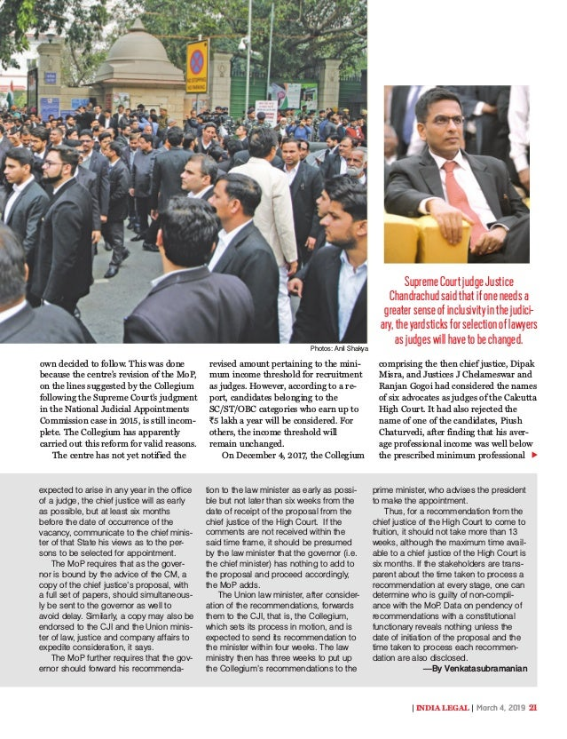India Legal 04 March 2019
