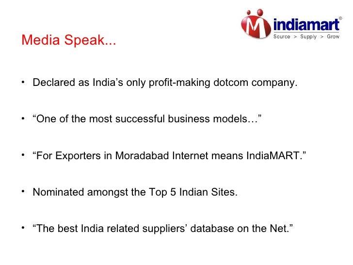 IndiaMART.com Reviews Slide 3