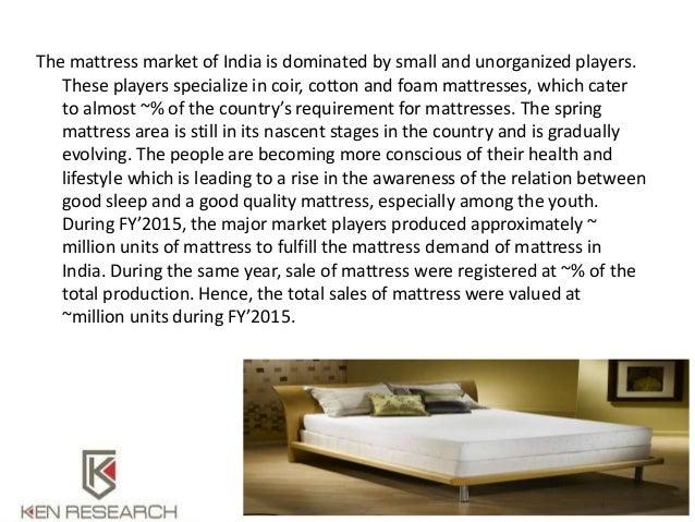 india mattresses market report 2020 2 - Online Mattress Sales