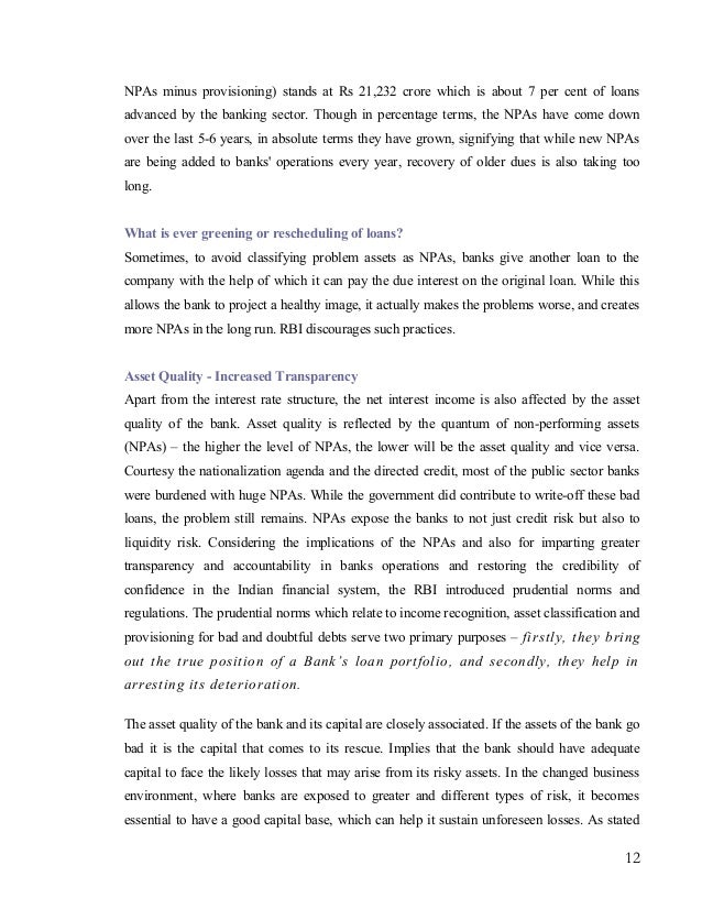 banking sector reform essay Early phase from 1786 to 1969 of indian banks nationalisation of indian banks  and up to 1991 prior to indian banking sector reforms.