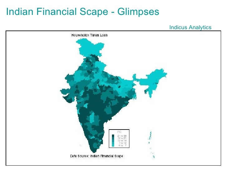 Indicus  Analytics Indian Financial  Scape  - Glimpses