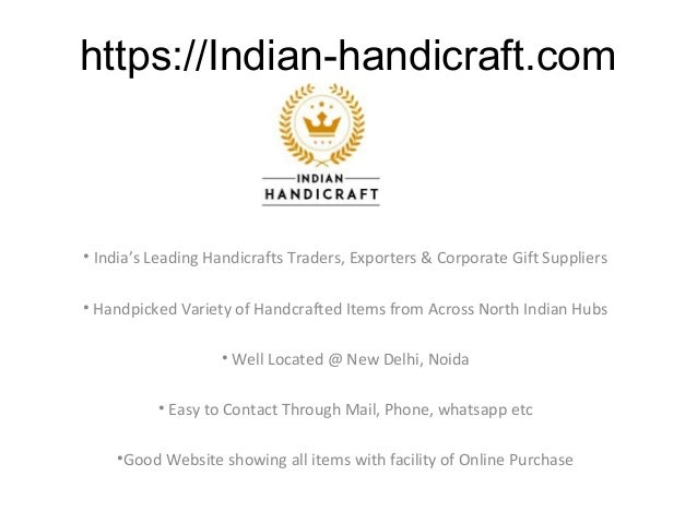 https://Indian-handicraft.com • India's Leading Handicrafts Traders, Exporters & Corporate Gift Suppliers • Handpicked Var...