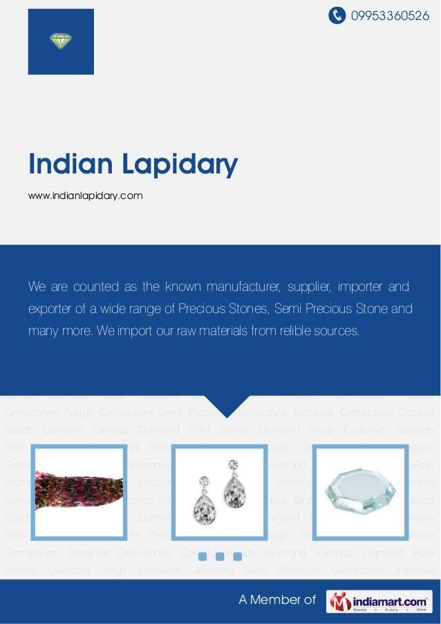 09953360526A Member ofIndian Lapidarywww.indianlapidary.comColored Beads Diamond Earrings Diamond Polki Stones Diamond Rin...