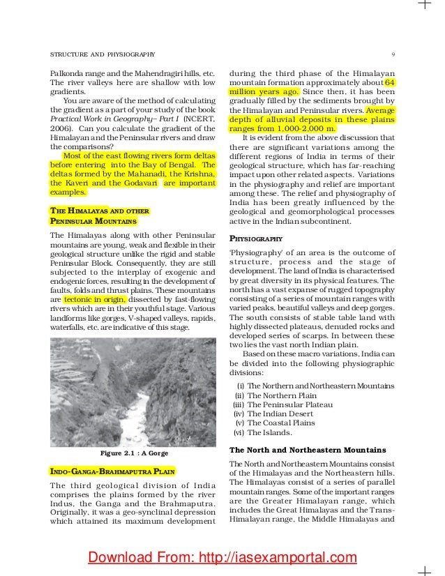 india physical environment ncert