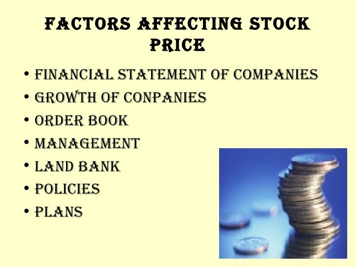 Economic Factors That Affect the Stock Market