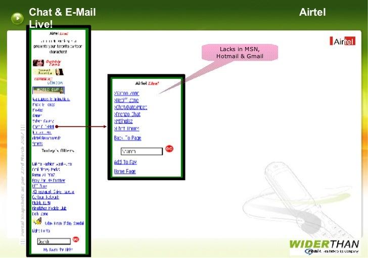 airtel live chat