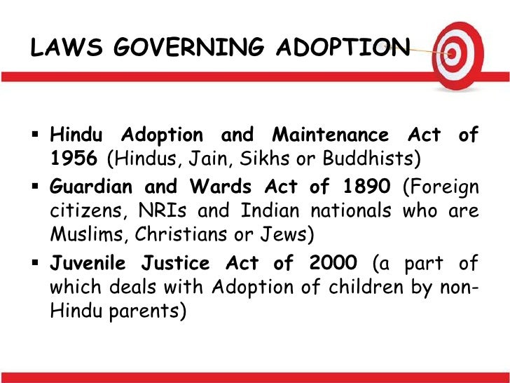 law of adoption under hindu law