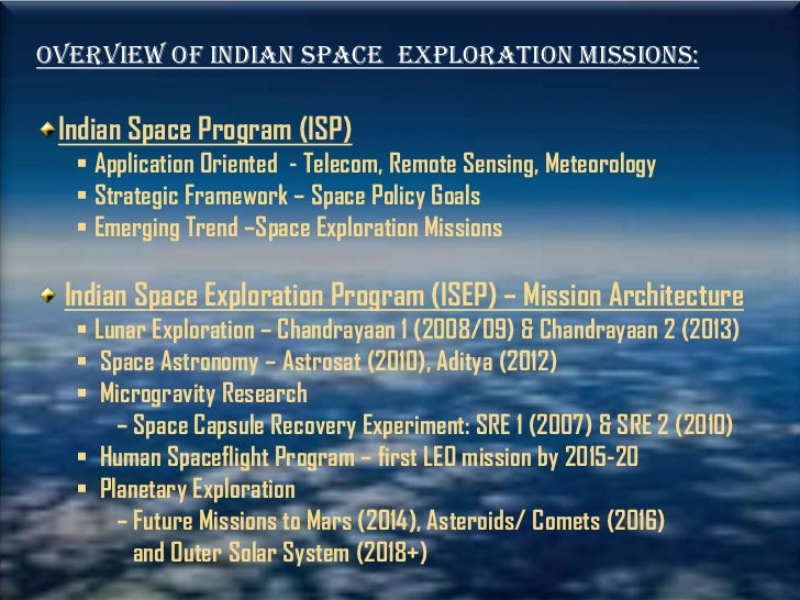 Indian aerospace research