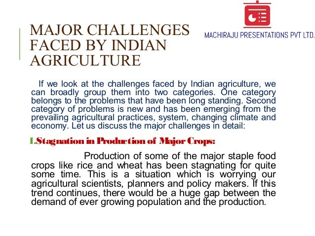 Indian Agriculture Overview Types Major Crops Changing