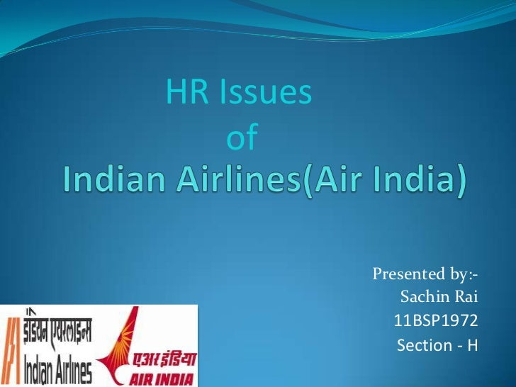 HRM Problem in Indian Airlines