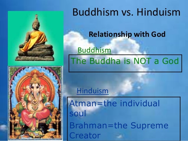 essay on buddhism and hinduism comparing and contrasting